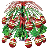 Christmas Ornament Cascade Centerpiece 18""