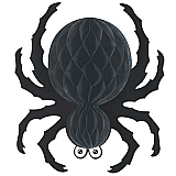 Black Tissue Spider 18""