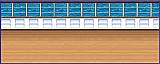 Cruise Ship Deck Backdrop 4' x 30'