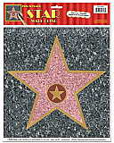 "Star Cling Peel-N-Place 12"" x 15"""