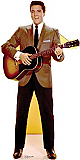 Elvis Brown Jacket (Talking) - Elvis Cardboard Cutout Standup Prop