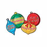 "Christmas Ornaments Cutouts 16"""