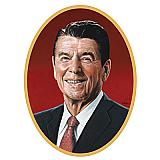 "Reagan Cutout 25"""