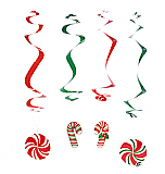 Candy Cane Hanging Cutouts
