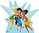 Tinker Bell, Silvermist, and Iridessa - Secret of the Wings Cardboard Cutout Standup Prop