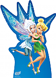 Periwinkle and Tinker Bell - Secret of the Wings Cardboard Cutout Standup Prop