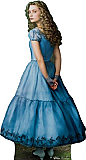 Alice - Alice in Wonderland Cardboard Cutout Standup Prop