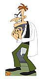Dr. Doofensmirtz - Phineas and Ferb Cardboard Cutout Standup Prop