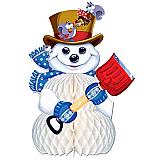 "Snowman Centerpiece 11"""