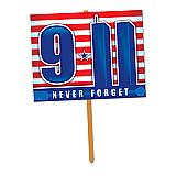 """9/11 Yard Sign 11"""" x 14"""""""