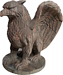 Griffin Gargoyle Foam and Concrete Sculpture/Statue Prop
