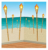 "Tiki Torch Props 15""-58"""