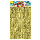 """Luau Character Curtain 4' 6"""" x 3'"""