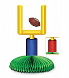 Goal Post Centerpiece 9""