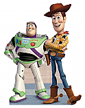 Buzz and Woody - Toy Story Cardboard Cutout Standup Prop