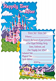 "Princess Party Invitations 4"" x 5½"""