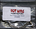 Four 4-foot Bow Wires