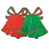"Foil Christmas Bell Silhouette 16½"""