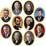 "American President Cutouts 10"""