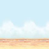 Desert Sky & Sand Backdrop 4' x 30'