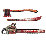 "Bloody Weapon Cutouts 25""-31"""