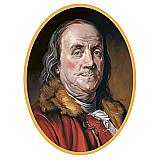 """Ben Franklin Cutout 25"""""""