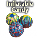 "Inflatable 9"" Candy Props"
