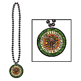 Beads With Party Like There's No To-Maya! Medallion 36""