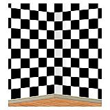 Checkered Backdrop 4' x 30'