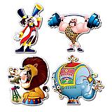 """Circus Cutouts 14"""""""