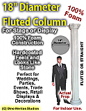 "Foam Column Prop 18"" Diameter"