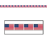 American Flag Party Tape