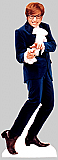 Austin Power Blue Suit Cardboard Standee
