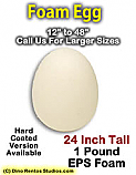 24 Inch Big Egg Foam Prop