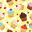 Cupcakes Backdrop