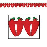 "Chili Pepper Garland 5½"" x 12'"