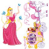 "Princess & Carriage Props 5' 4"" & 5' 4½"""
