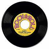 "Rock & Roll Plastic Record 19"" Prop"