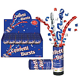 Patriotic Confetti Bursts