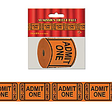 """Admission Ticket Tape Poly Decorating Material 3"""" x 50'"""