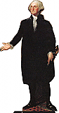 George Washington Cardboard Cutout Standup