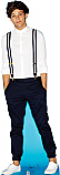 Louis 2 - One Direction Cardboard Cutout Standup Prop