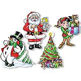 "Christmas Cutouts 14"""