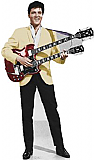 Elvis Yellow Jacket (Talking) - Elvis Cardboard Cutout Standup Prop