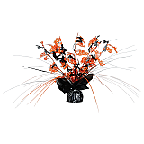 Happy Halloween Gleam 'N Spray Centerpiece 11""