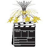 Movie Set Clapboard Centerpiece 15""