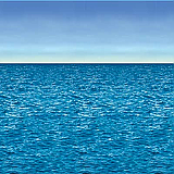 Ocean & Sky Backdrop 4' x 30'