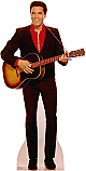 Elvis Playing Guitar - Elvis Cardboard Cutout Standup Prop