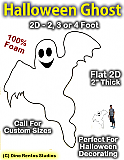 Giant Ghost Foam Prop