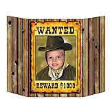 "Wanted Poster Photo Prop 3' 1"" x 25"""